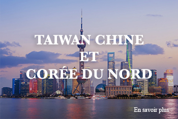 taiwan chine et coree du nord